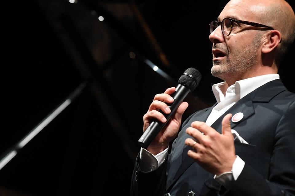 Simone Soldati, direttore artistico e ideatore di Lucca Classica - foto @ luccaclassica