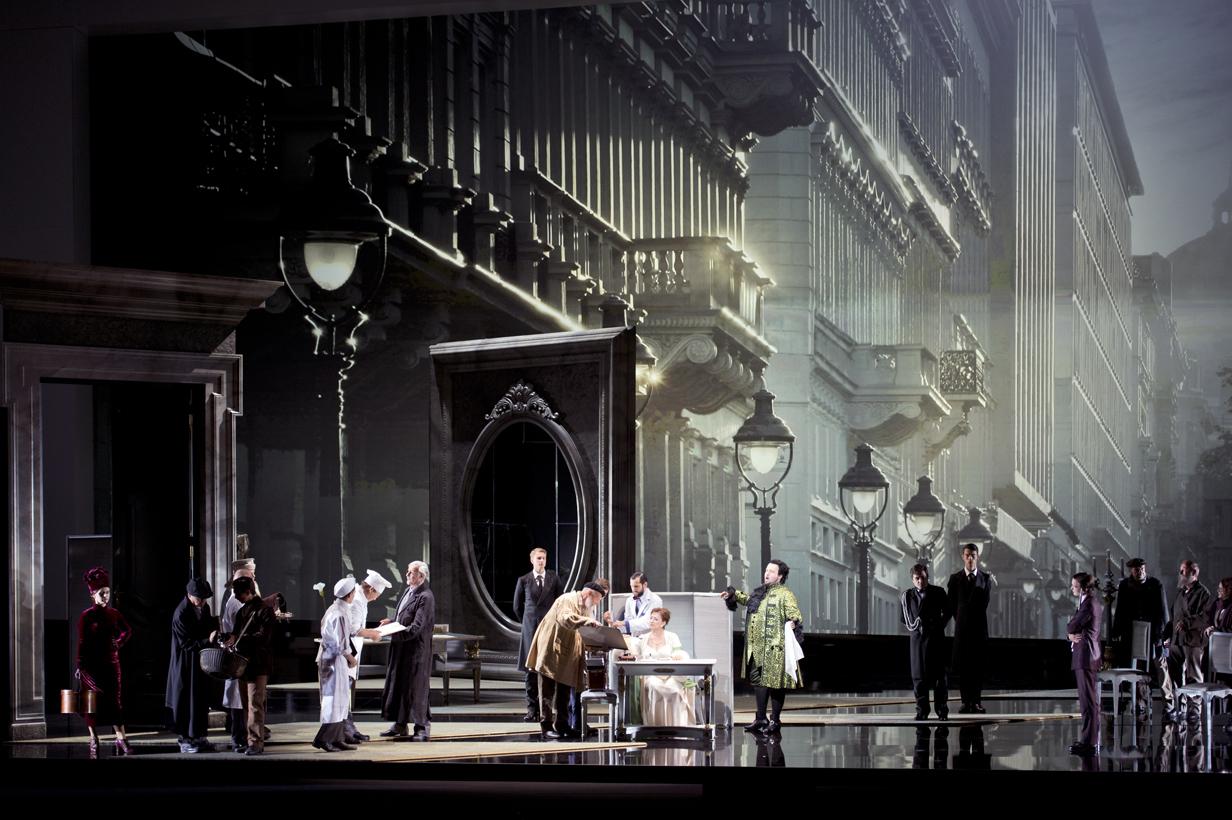 Salisburgo: Großes Festspielhaus - Der Rosenkavalier