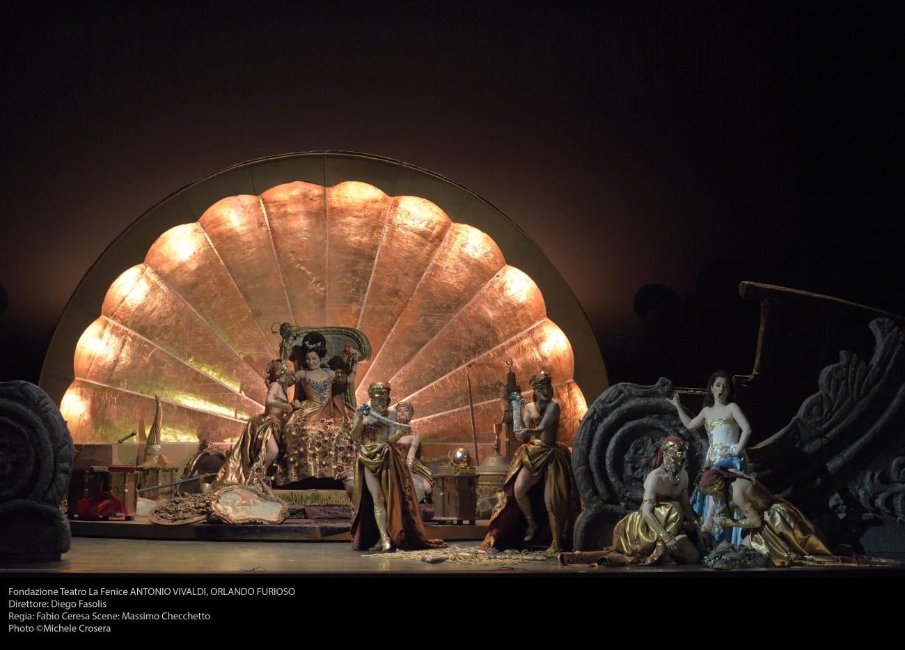Venezia, Teatro Malibran - Orlando furioso - foto @ Michele Crosera