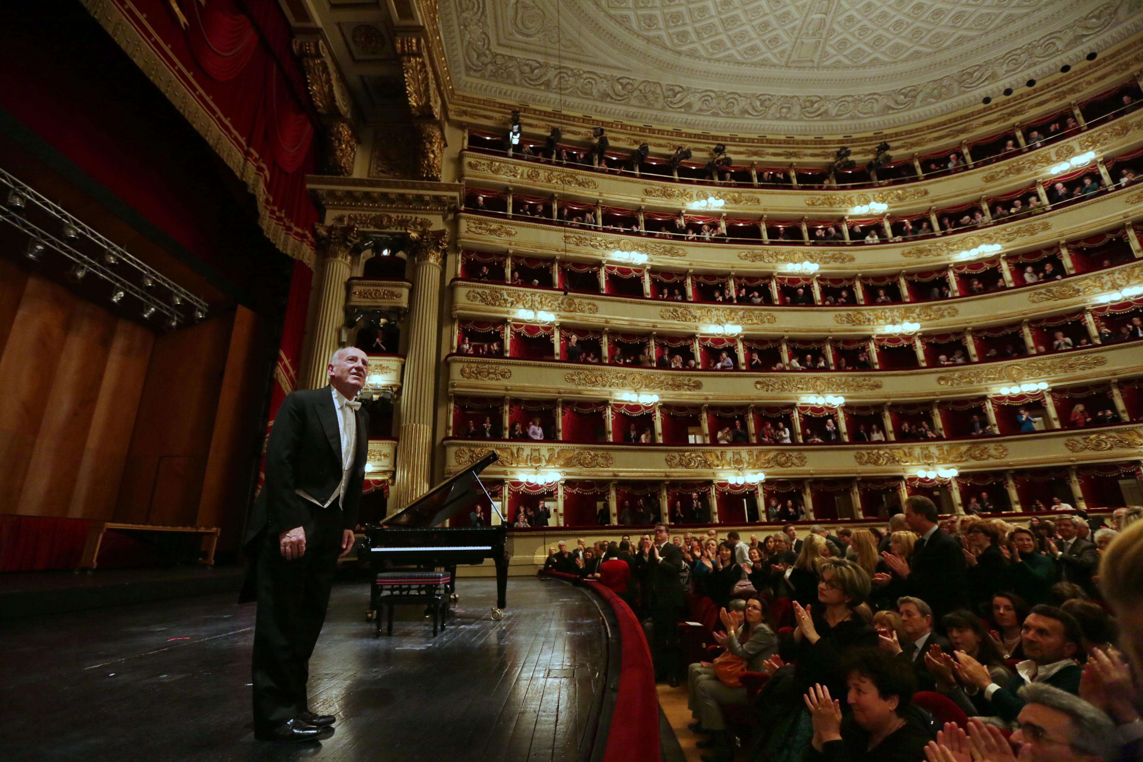 Maurizio Pollini - credits Brescia e Amisano/Teatro alla Scala