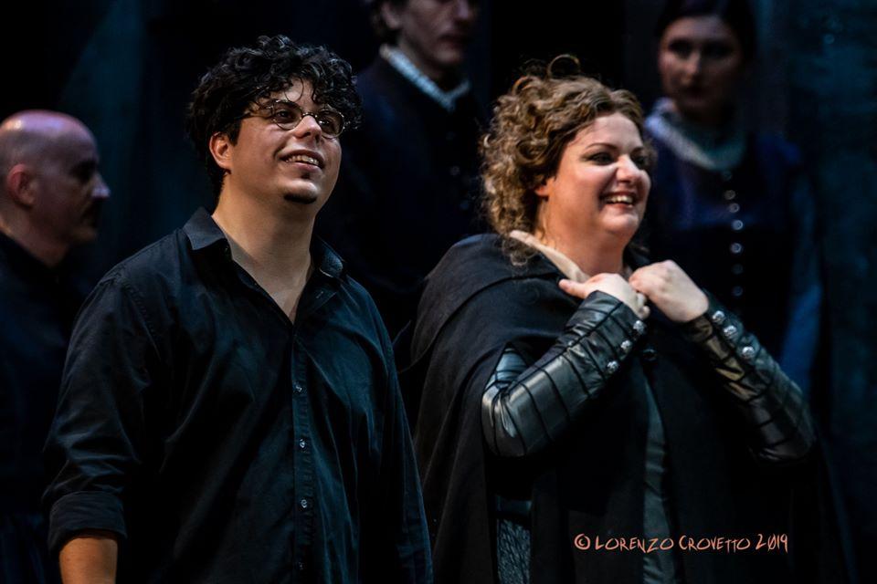 Andrea Battistoni e Rebeka Lokar