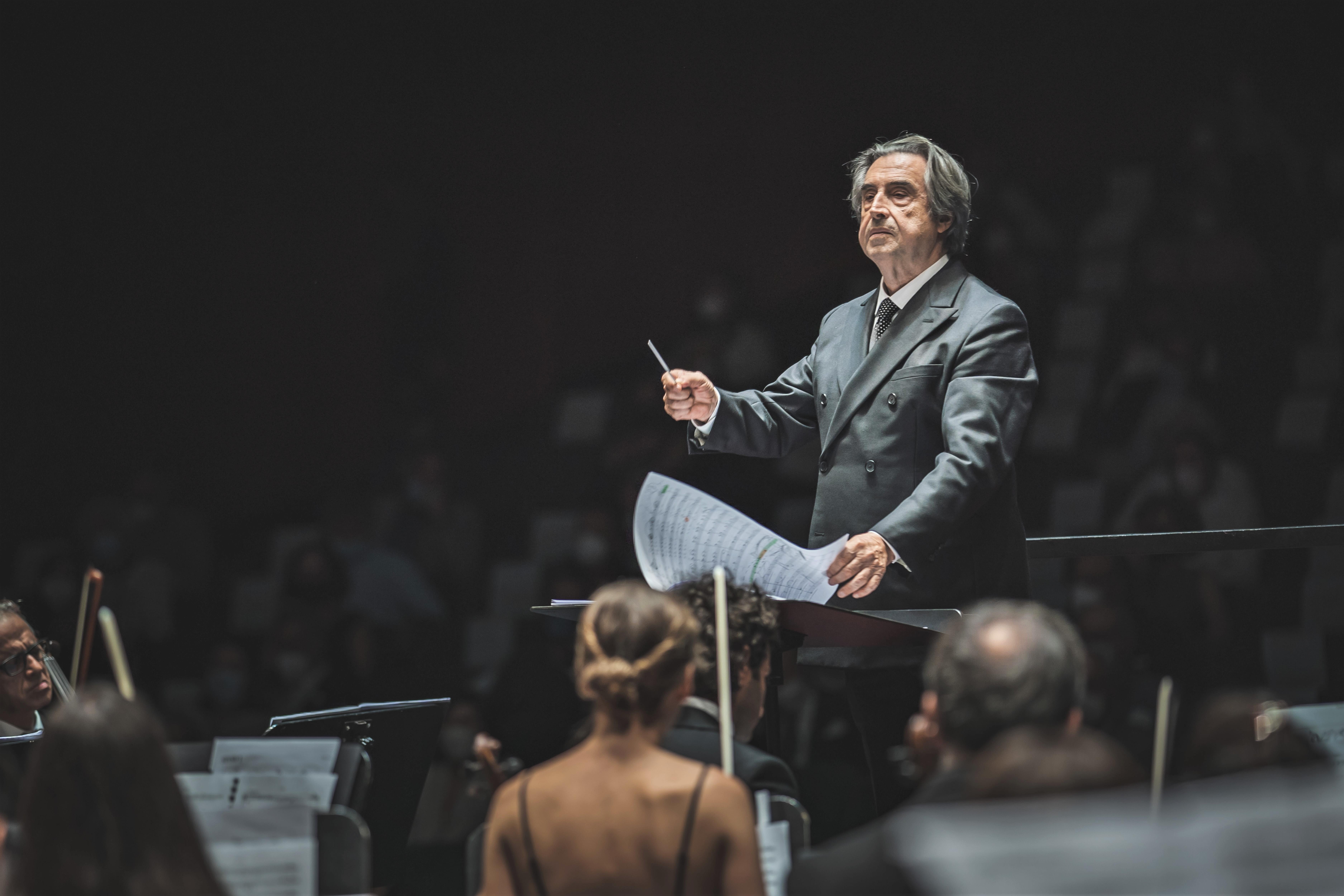 Riccardo Muti (foto Michele Monasta)
