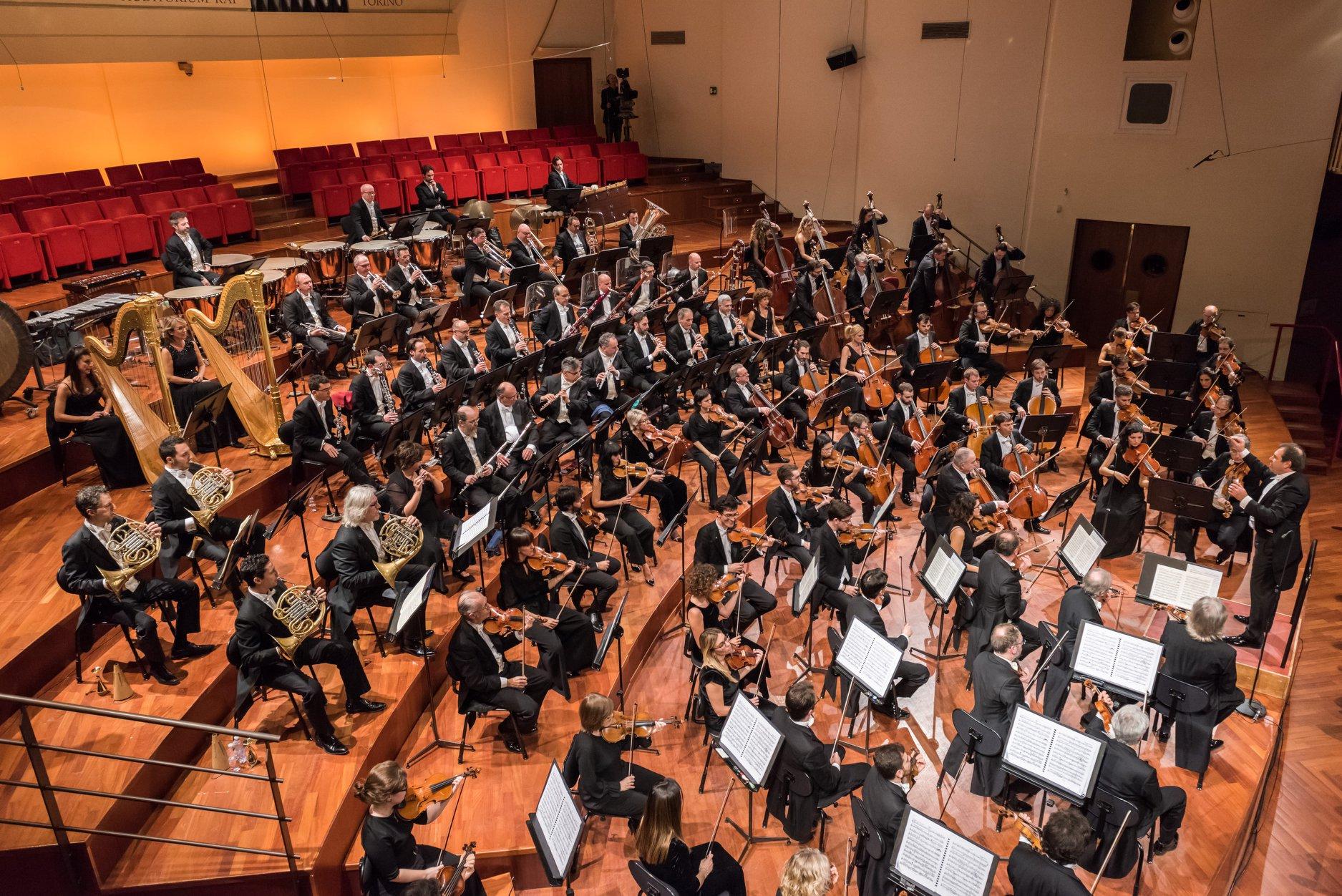 PiùLuce per Orchestra Rai