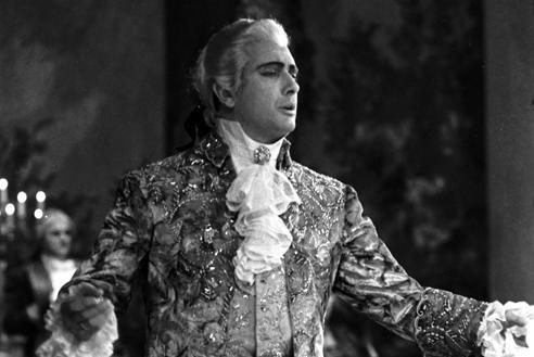 Franco Corelli in Andrea Chenier – Scala, gennaio 1960 (Archivio Teatro alla Scala)