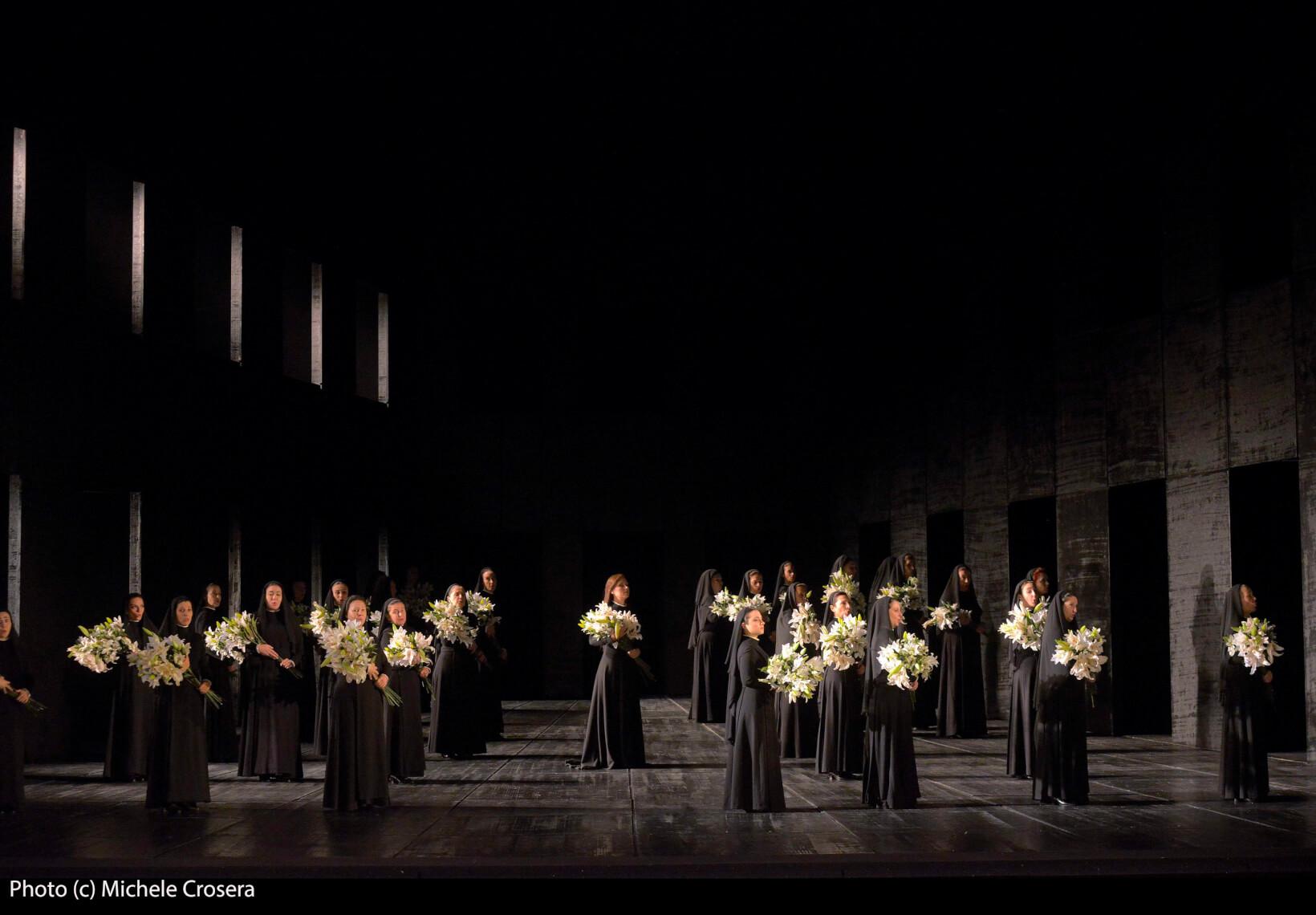 Teatro La Fenice - Don Carlo, a. I.2 sc. 1 - foto @ Michele Crosera