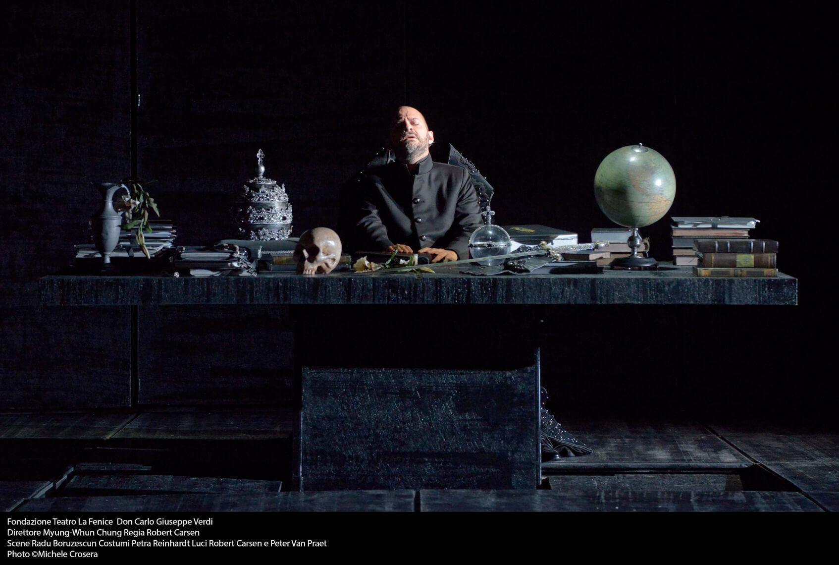 Teatro La Fenice - Don Carlo, a. III.1 sc. 1 - foto @ Michele Crosera