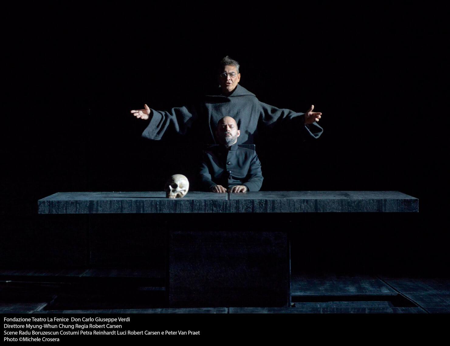 Teatro La Fenice - Don Carlo, a. III.1 sc. 2 - foto @ Michele Crosera