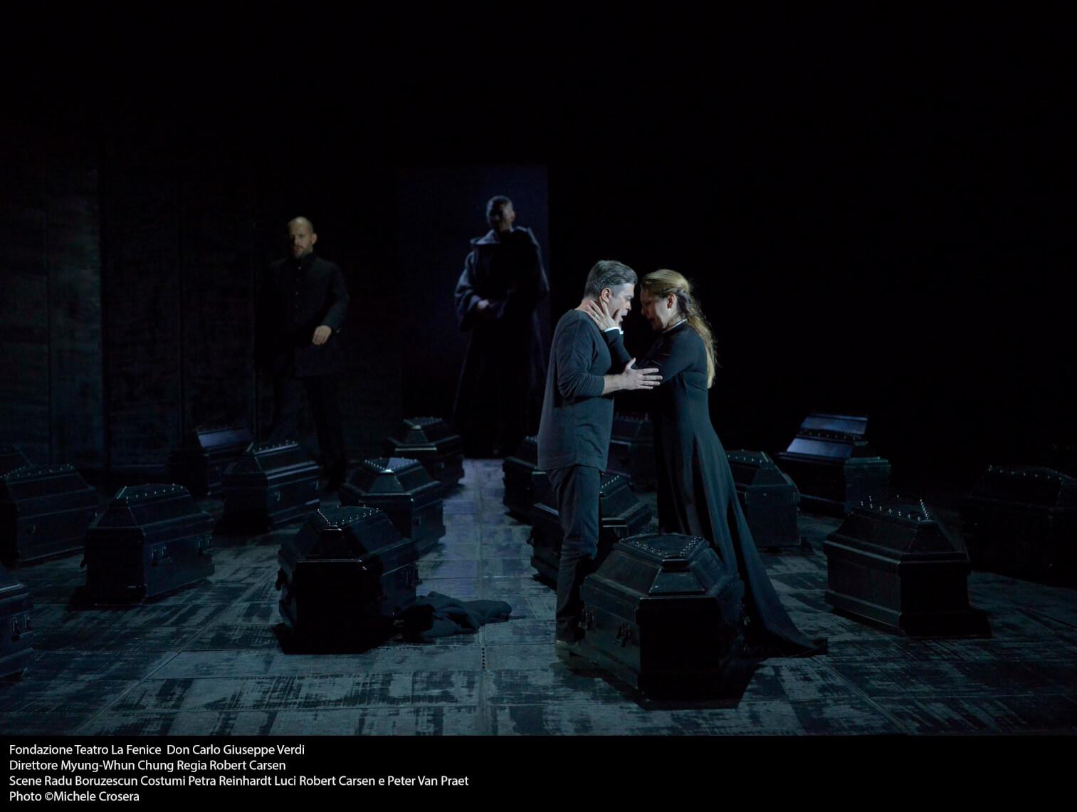 Teatro La Fenice - Don Carlo, a. IV sc. 2 - foto @ Michele Crosera