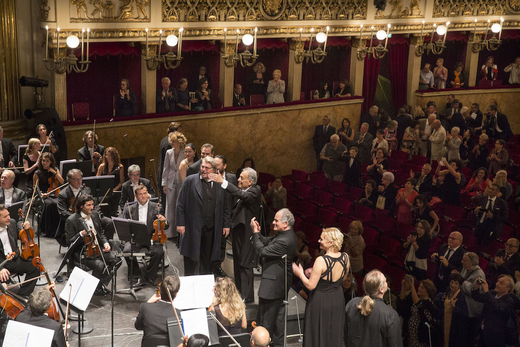Foto concesse dal Teatro di San Carlo - Napoli