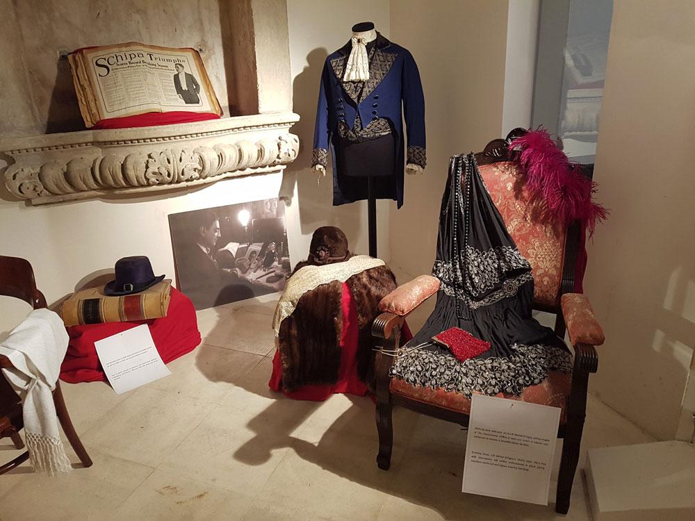 qualche dettaglio della mostra dedicata a Tito Schipa - foto di Eraldo Martucci