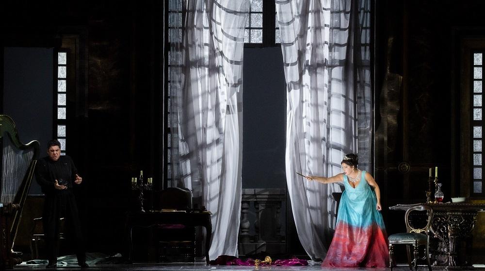 Luca Salsi e Anna Netrebko - Credit Brescia/Amisano – Teatro alla Scala