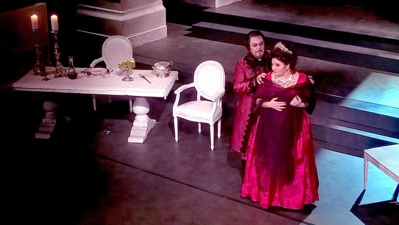 Dimitra Theodossiou e Carmelo Corrado Caruso - Foto P. Monteverdi
