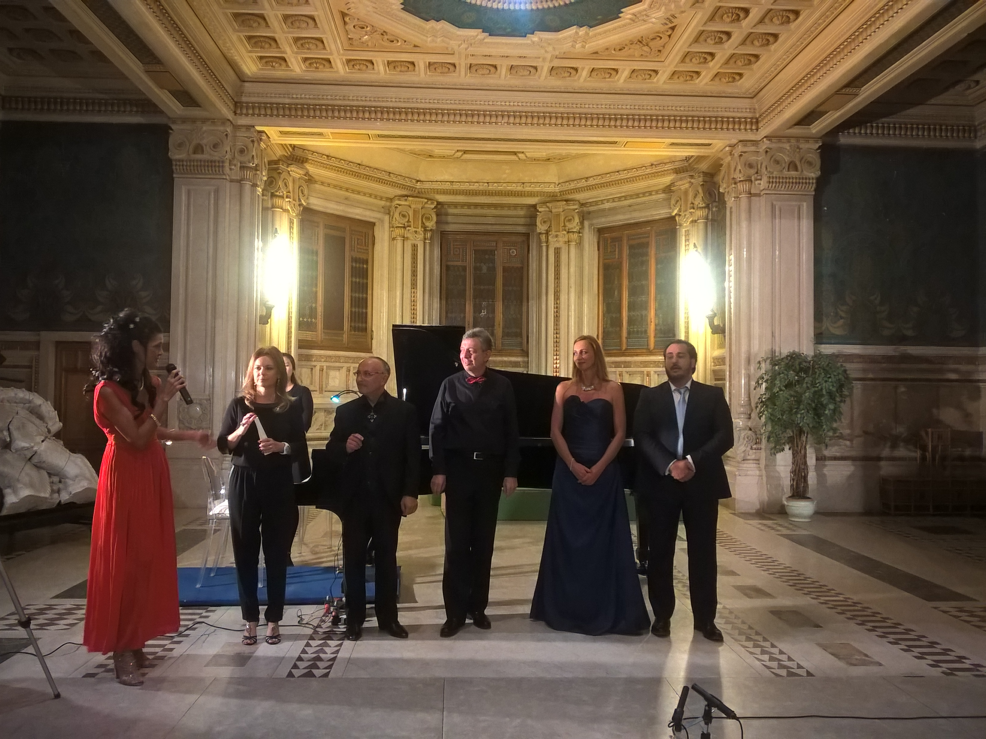 Katia Lanzi, Ilaria Notari,Sergio Bologna, Raffaele Cortesi. Gabrielle Mouhlen, Alberto Profeta. Ph P. Monteverdi