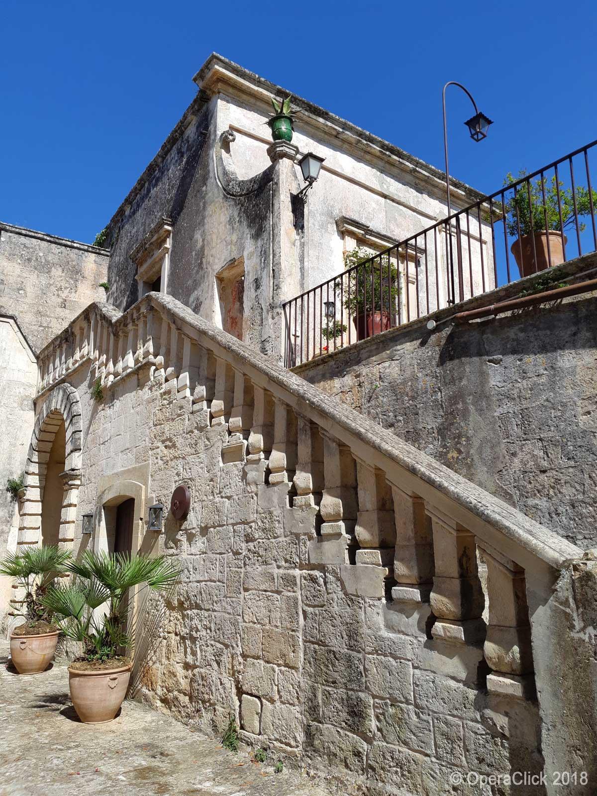 interno della proprietà Bacile di Castiglione