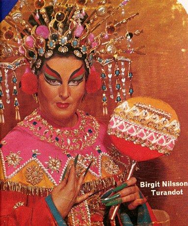 Birgit Nilsson - una delle più acclamate Turandot del secolo scorso.