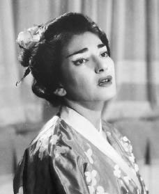 Maria Callas è Cio-Cio-San