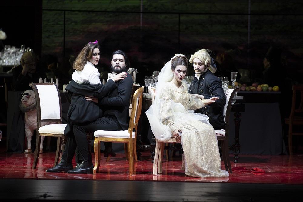 Il campanello - ph. Priamo Tolu/Teatro Lirico di Cagliari