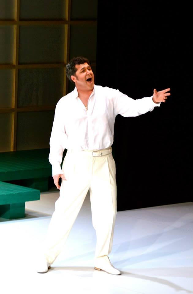 Luis Chapa (Pinkerton)  Teatro G.Verdi, Trieste