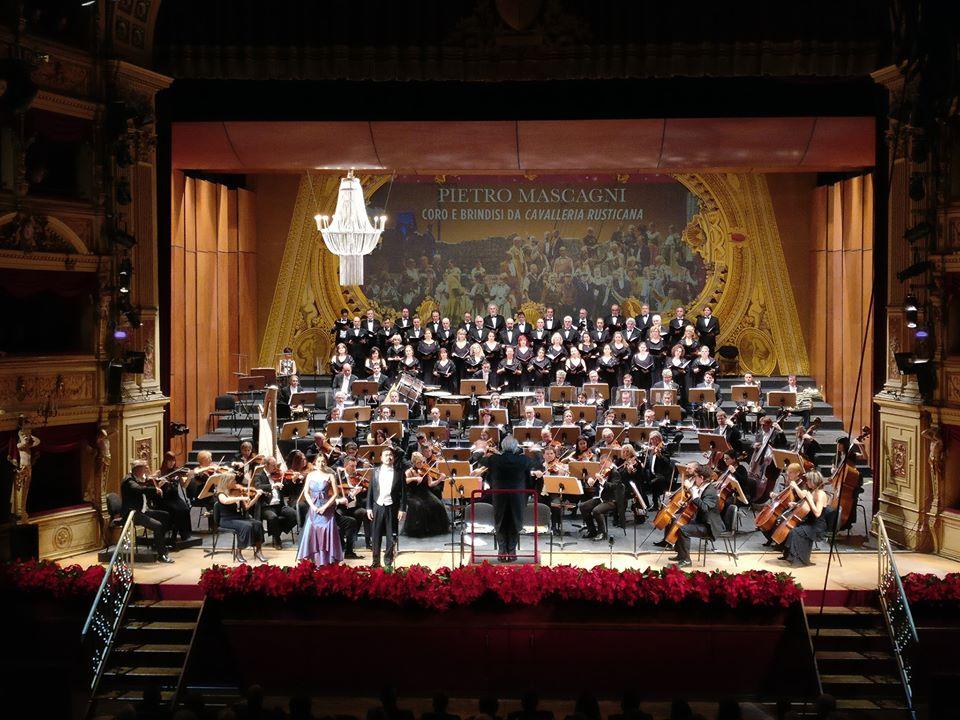 Foto dalla pagina Facebook del Verdi di Trieste