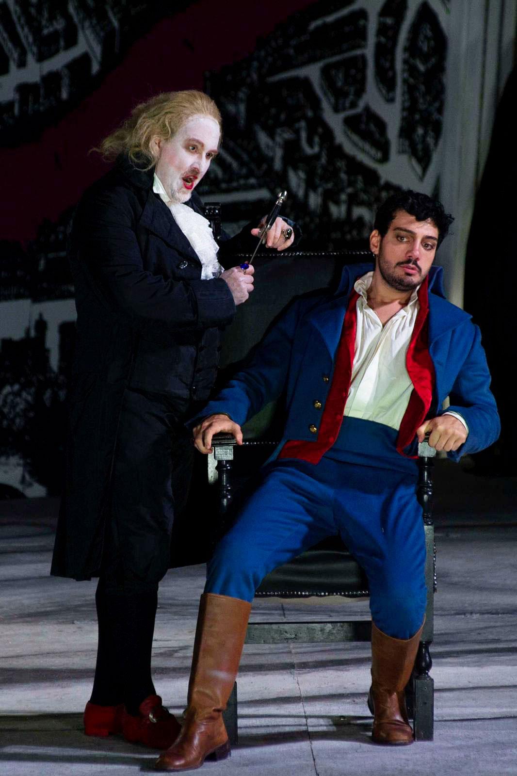 Vincenzo Costanzo (Mario Cavaradossi) - Franco Vassallo (Scarpia) - Tosca al Festival Puccini 2021