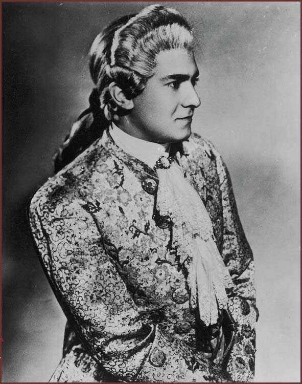 Des Grieux nella Manon di Massenet