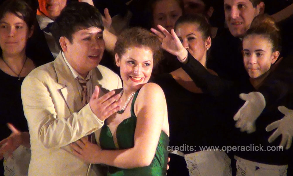 Wang Chuan e Lucrezia Drei - credits: www.operaclick.com