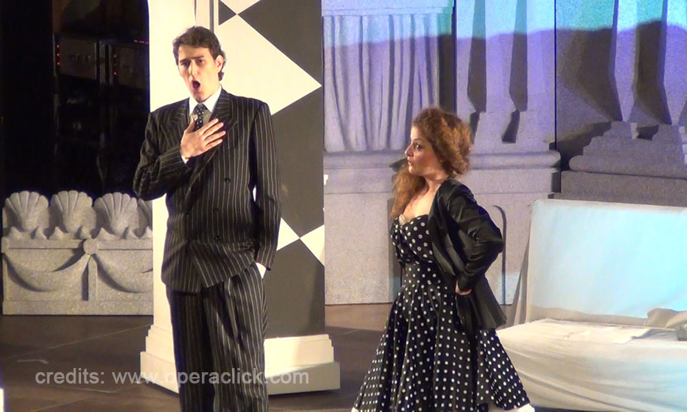 Niccolò Scaccabarozzi e Lucrezia Drei - credits: www.operaclick.com