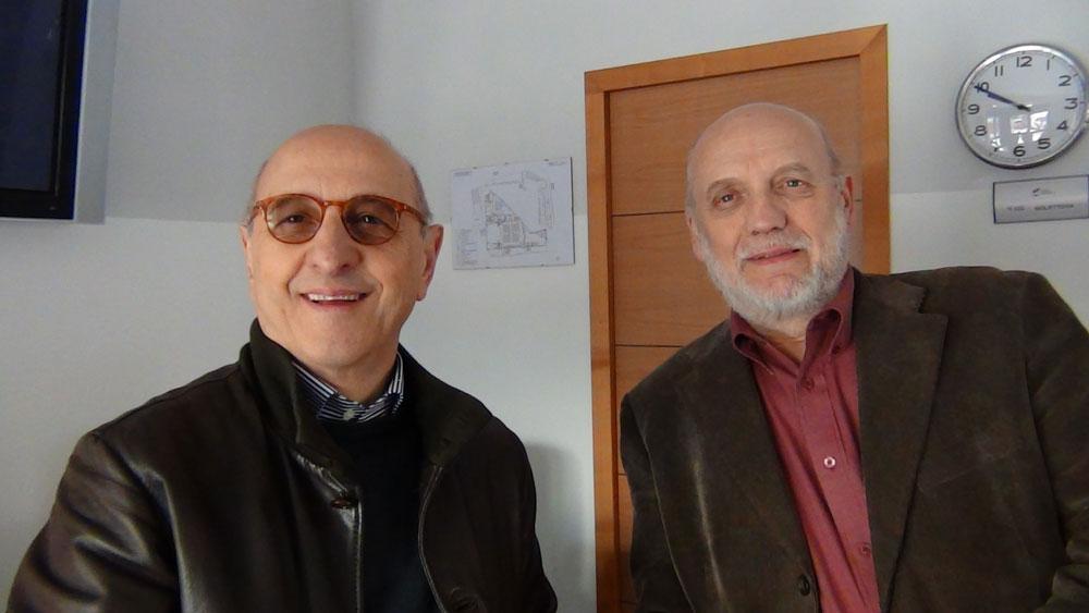 Paolo Barbacini e Ugo Bedeschi