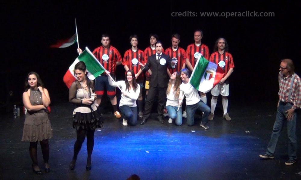 Adina: Annalisa Ferrarini, Nemorino;:Filippo Pina Castiglioni, Belcore: Jaime Eduardo Pialli, Giannetta: Barbara Massaro e coro
