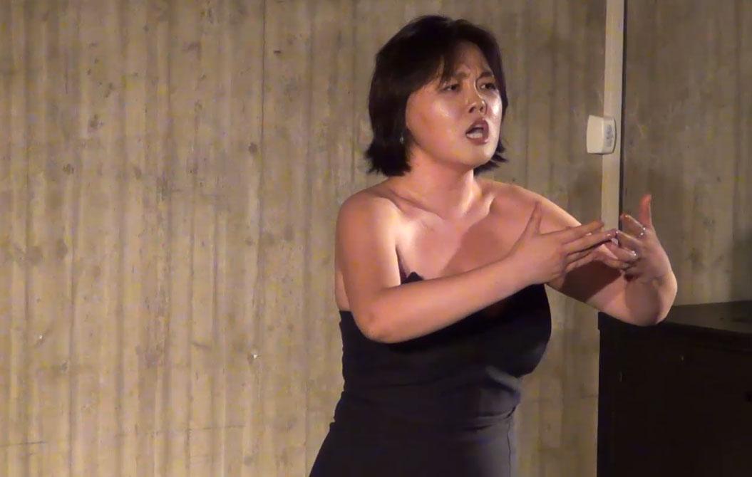 Yim Kyoung A, seconda classificata