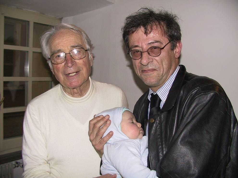 Michele Girardi (a destra) con Bruno Bartoletti