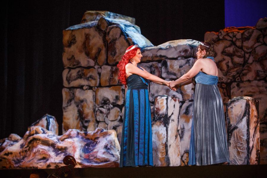 Amarilli Nizza e Anna Maria Chiuri - credits: Shaun Sultana