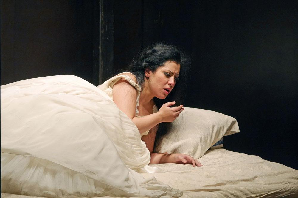 Maria Katzarava: Desdemona in Otello al Gran Teatre del Liceu di Barcelona  - ® A Bofill
