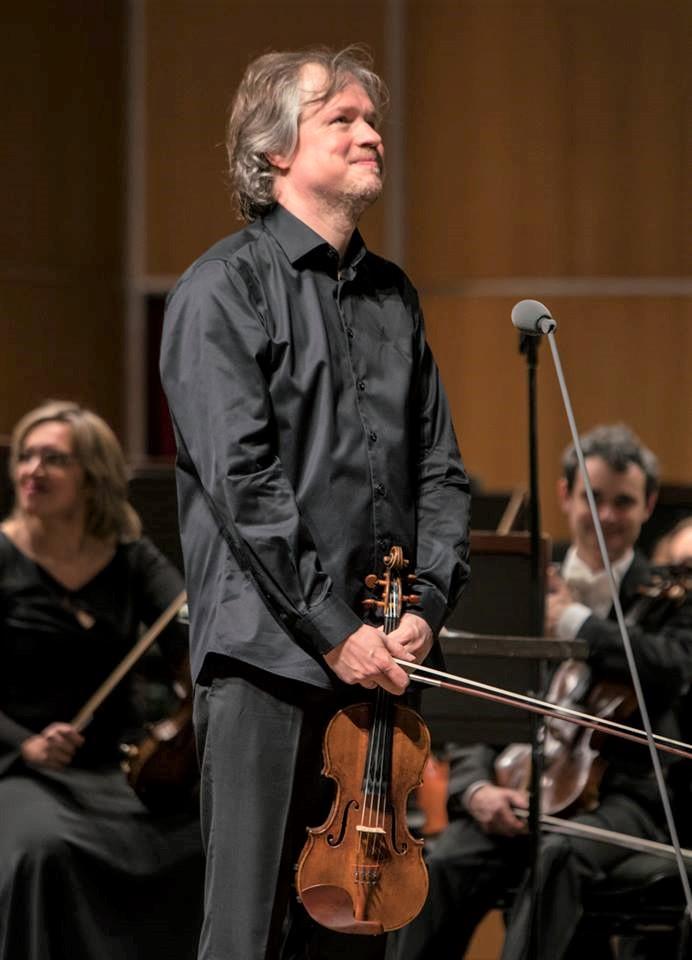 Henning Kraggerud (foto dalla pagina fb dell'ORT)