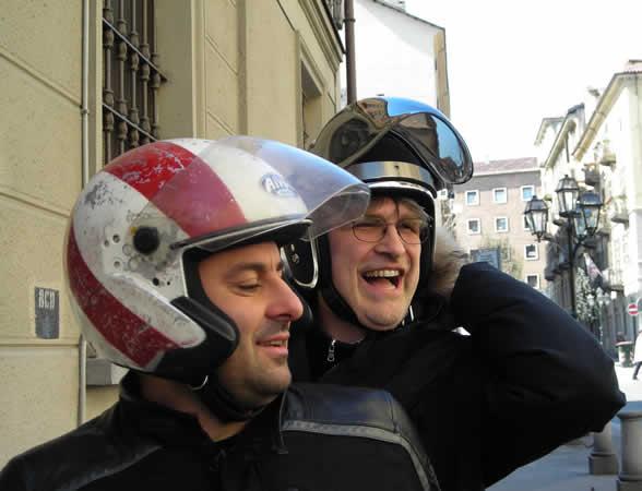 Davide Livermore e Massimo Viazzo