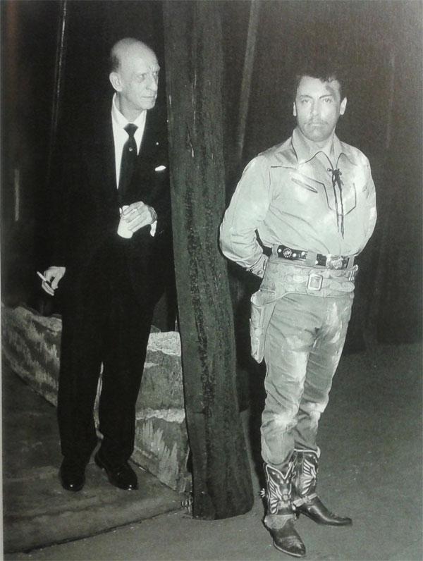 Chicago 1956 - prove di Fanciulla con Dimitri Mitropoulos