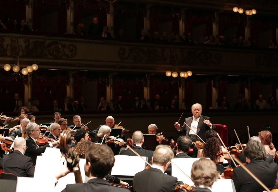 dalla pagina Facebook del Teatro alla Scala - credit Brescia/Amisano