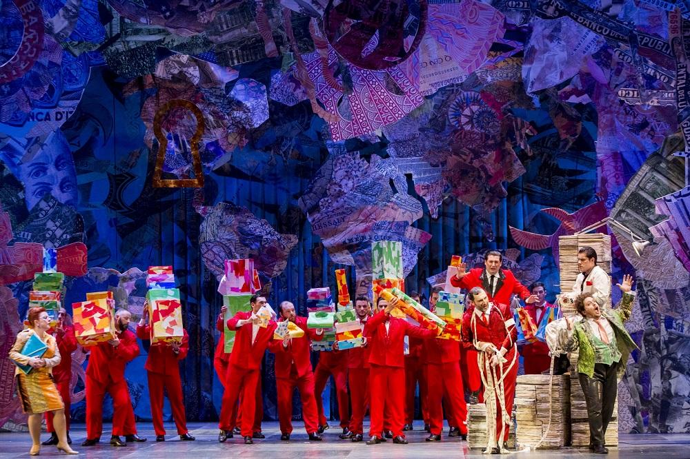Scena d'insieme - Foto Rota / Fondazione Donizetti.