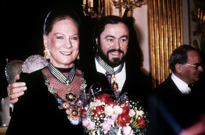 Renata Tebaldi e Luciano Pavarotti