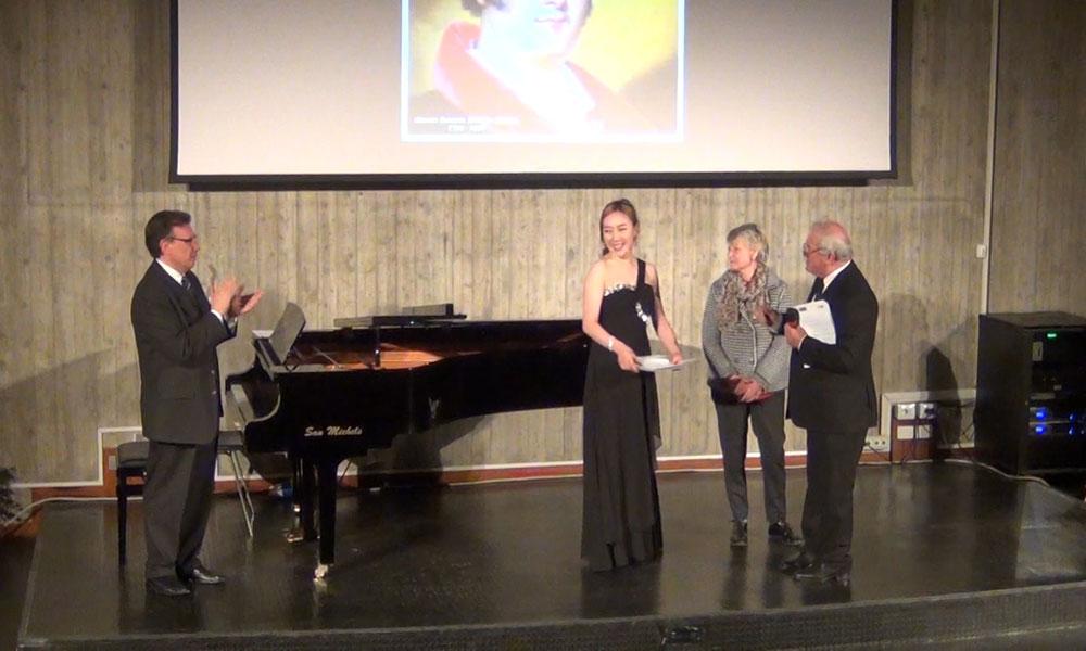 Eukyoung Kim vincitrice del Premio del pubblico intitolato a Tarcisio Servidati