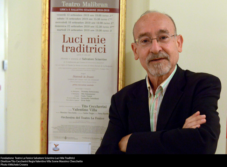 Salvatore Sciarrino - foto @ Michele Crosera
