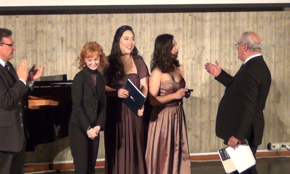 Shin Je Bang e Erika Tanaka vincitrici del TERZO premio