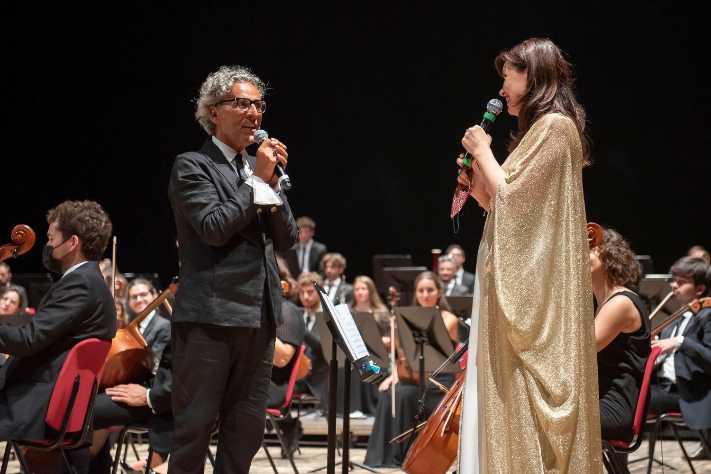 Giuseppe Aiello e Marina Rebeka