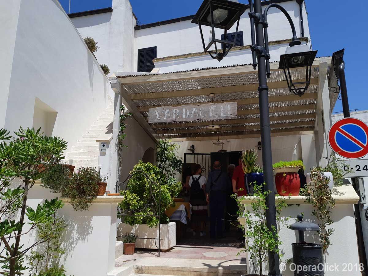 Trattoria Vardaceli a Castiglione d'Otranto