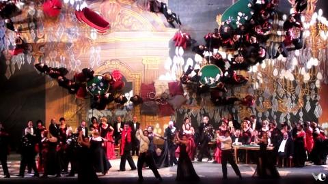 La Traviata, Verona -  coreografie Valentina Escobar, regia Henning Brockhaus. 2015