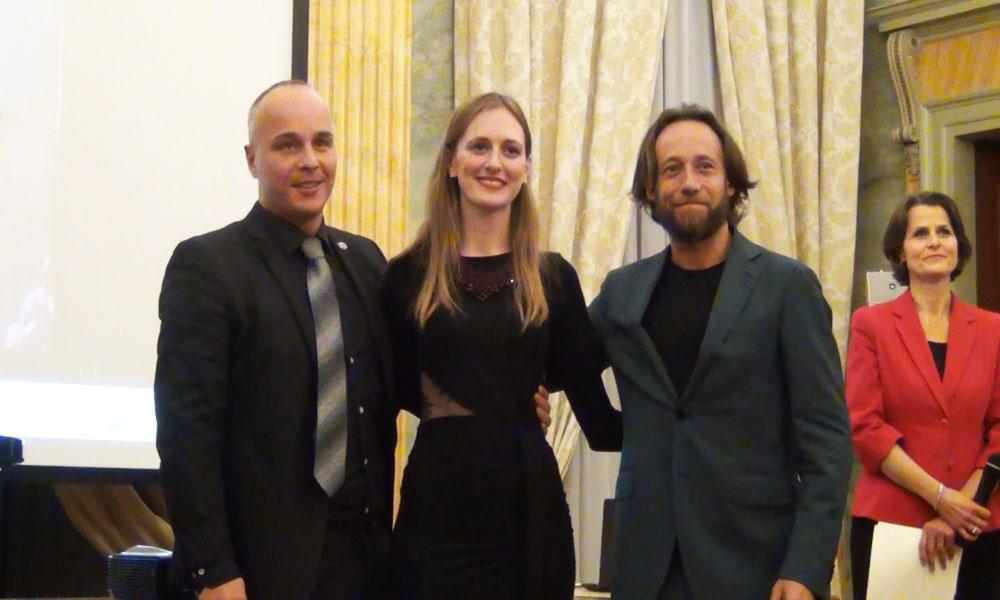 da sx Renato Bonajuto, Vittoria Vimercati e Matteo Beltrami - foto di OperaClick