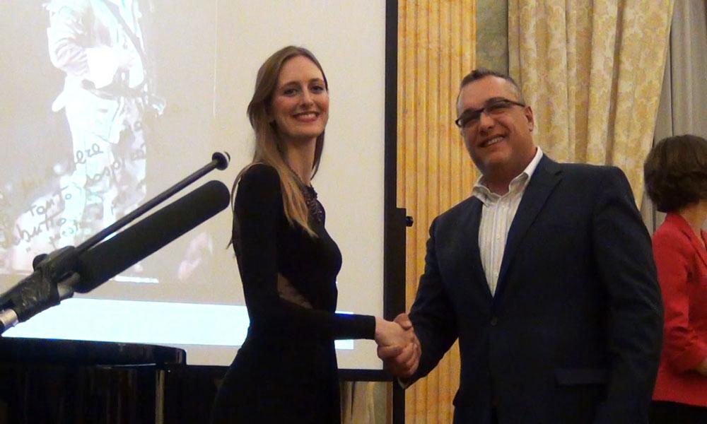 Vittoria Vimercati con Fabio Licitra - foto di OperaClick
